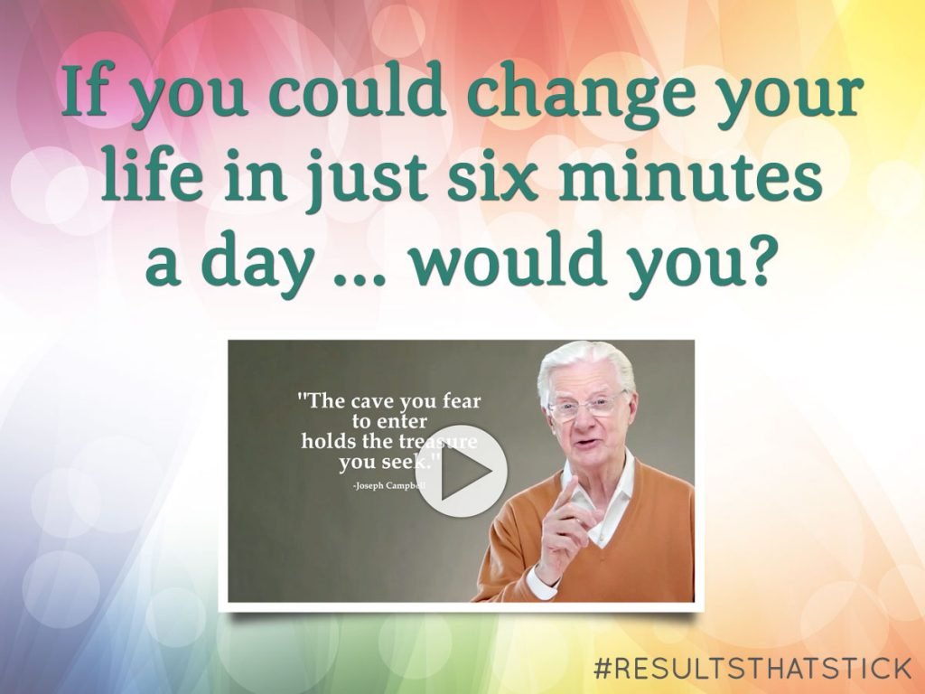 Bob Proctor's 6 minutes to success program